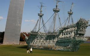 St Louis pirate ship